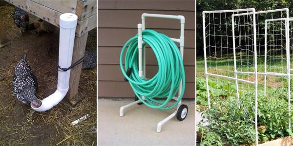 Creative Pvc Pipe Projects Your Yard Garden