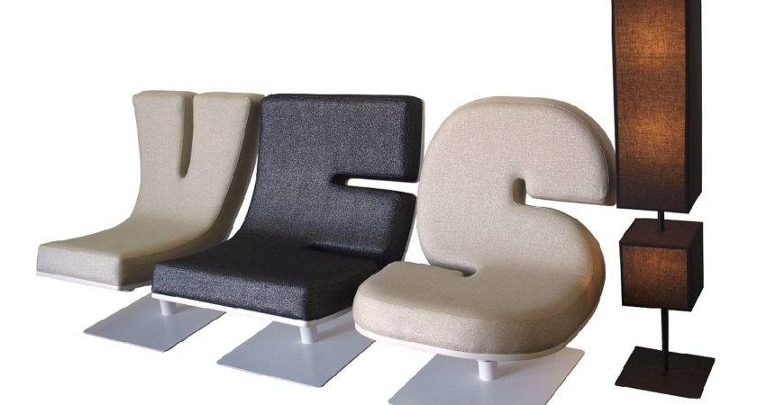 Creative Typographic Furniture Tabisso