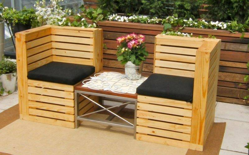 Creative Unique Style Pallet Furniture Ideas