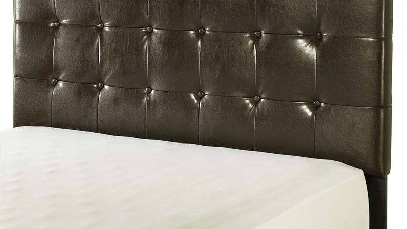 Crosley Andover Faux Leather Tufted Queen Headboard