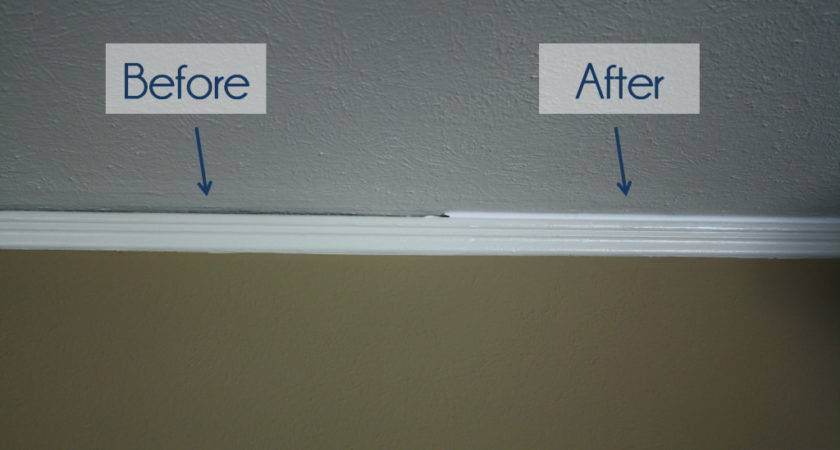 Crown Molding Before After House Exterior