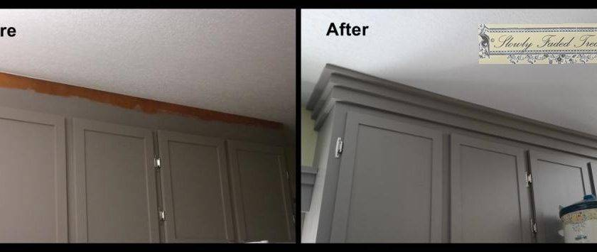 Crown Molding Slowly Faded Treasures