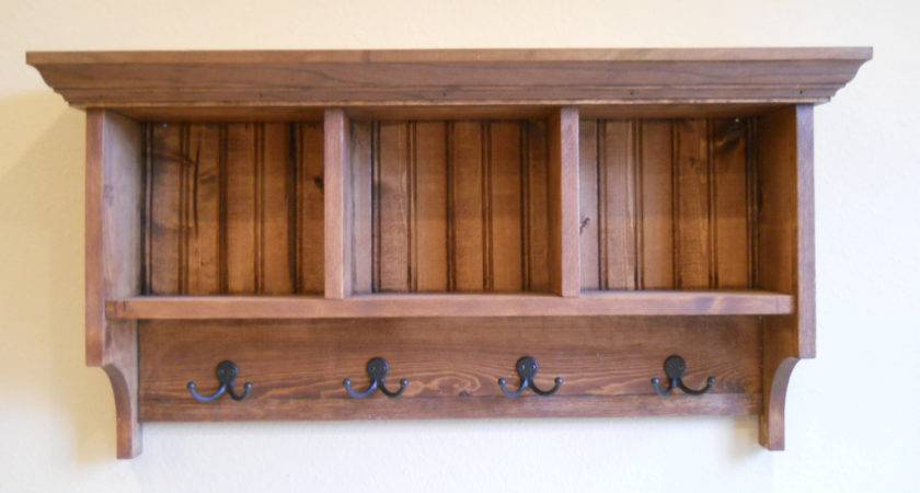 Cubby Shelfmud Room Shelf Wood Storage