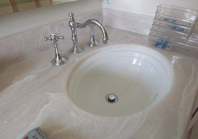 Cultured Marble Countertop Kohler Undermount Sinks