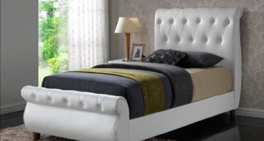 Cushioned Bed Frame Headboard Homedcin