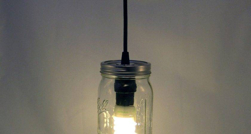 Custom Ball Mason Jar Hanging Pendant Light Bmql Svt