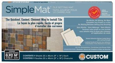 Custom Building Products Simplemat Tile Setting Mat