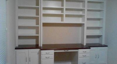 Custom Cabinet Houston Built Desk Heights Jared