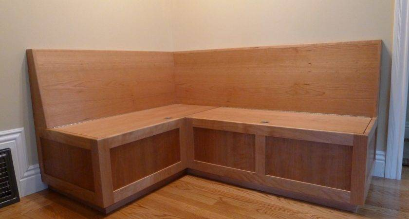 Custom Cherry Banquette Near West Custommade