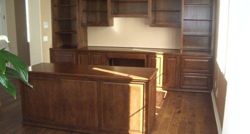 Custom Home Office Cabinets Southern California
