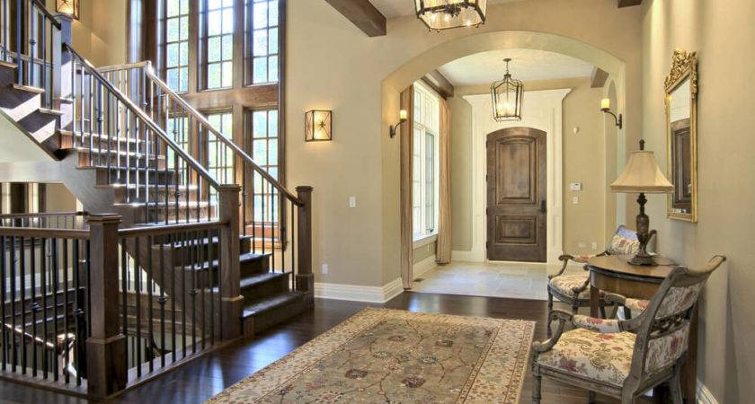 Custom Luxury Foyer Interior Designs