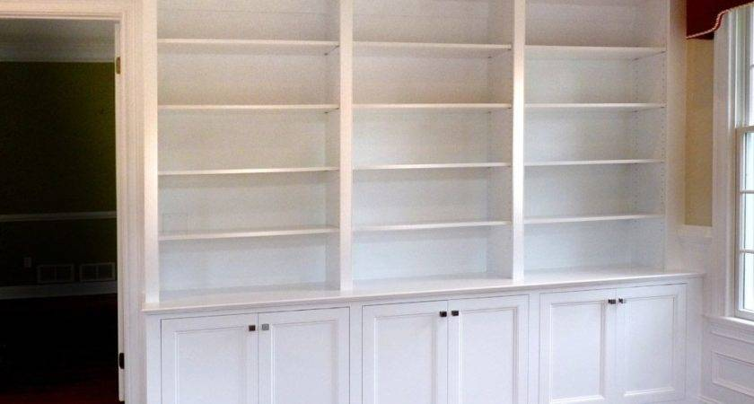 Custom Made Home Office Built Bookcases Stuart