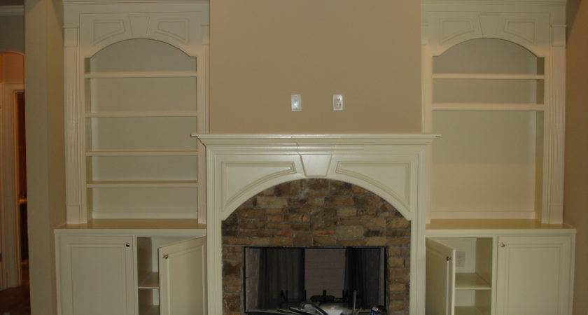 Custom Media Center Fireplace North Georgia Contractors