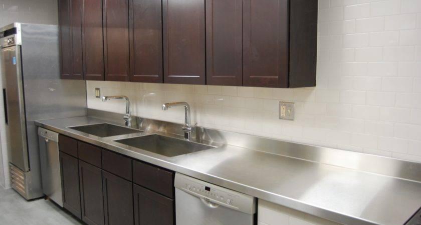 Custom Metal Home Stainless Steel Countertops