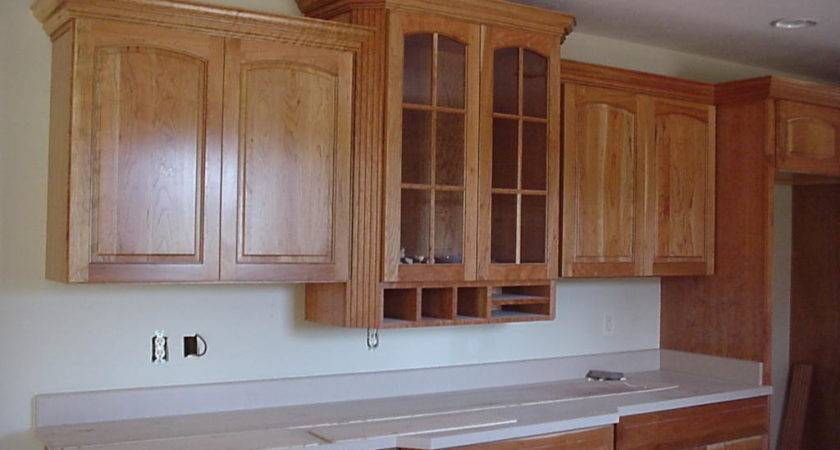 Cut Crown Molding Kitchen Cabinets Ehow
