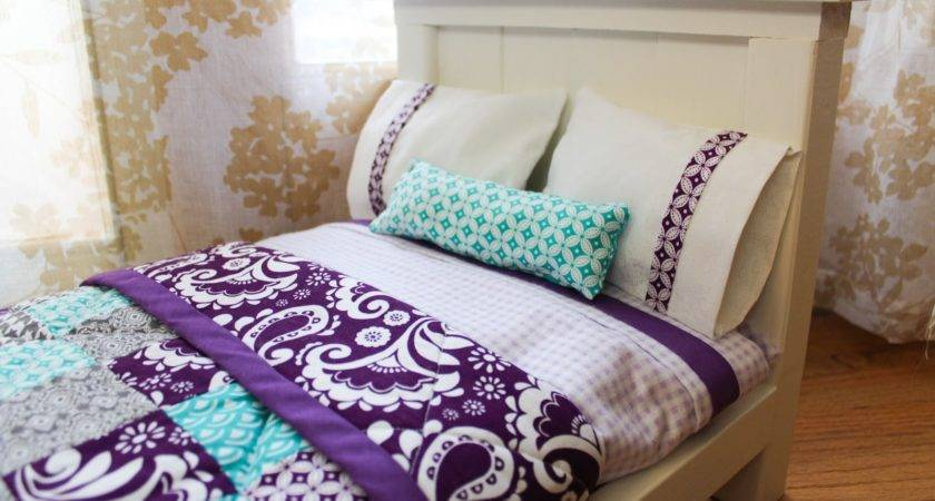 Dahlias Doxies Diy Doll Beds Tiny Quilts