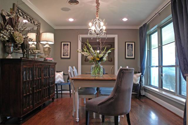 Dallas James Lynsey Purl Traditional Dining