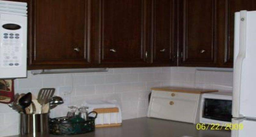 Dark Brown Cabinets Kitchen Painting