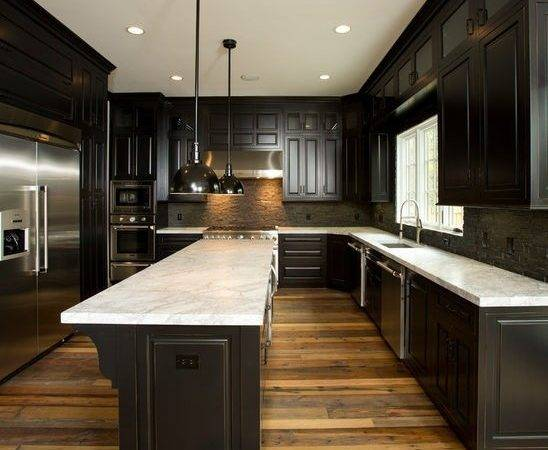 Dark Cabinets Light Floors Catchy Collection Bedroom