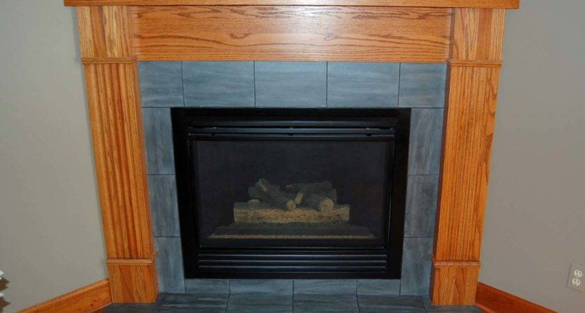 Davis Creative Painting Painted Fireplace Tile