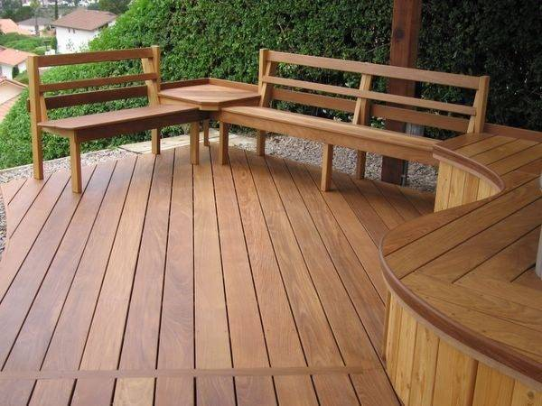 Deck Bench Seat Comfortable Enjoy Kvriver