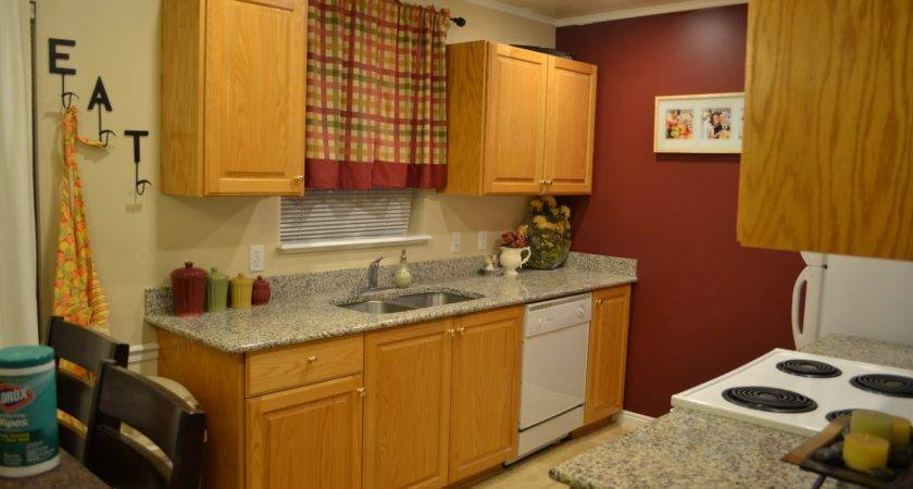 Deck Out Home Honey Oak Cabinets