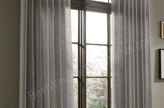 Decor Beautiful Inch Curtains Interiors Ideas
