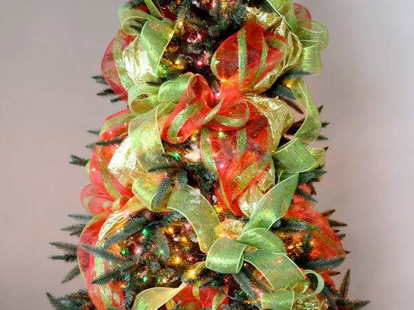 Decorate Christmas Tree Mesh Letter