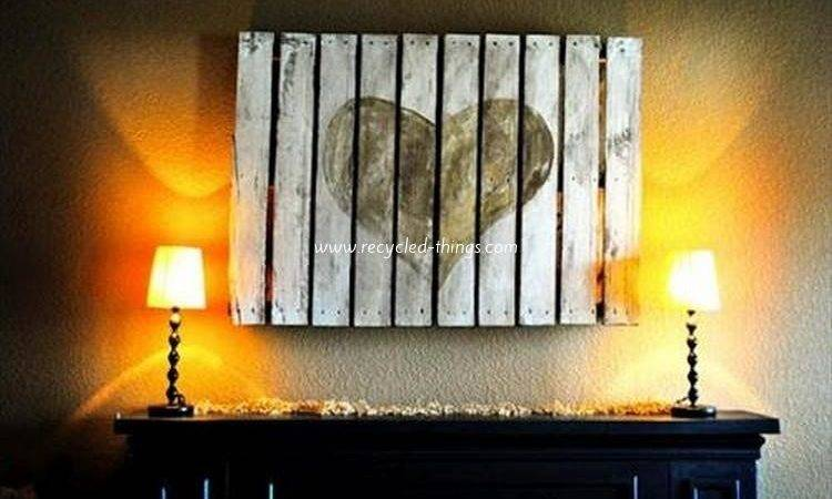 Decorate Your Home Pallets Recycled Things