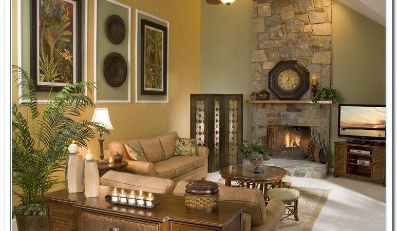 Decorating Large Living Room Wall Modern House