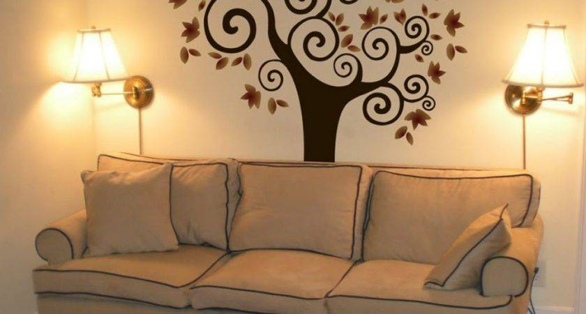 Decoration Your Home Interior Stunning Tree