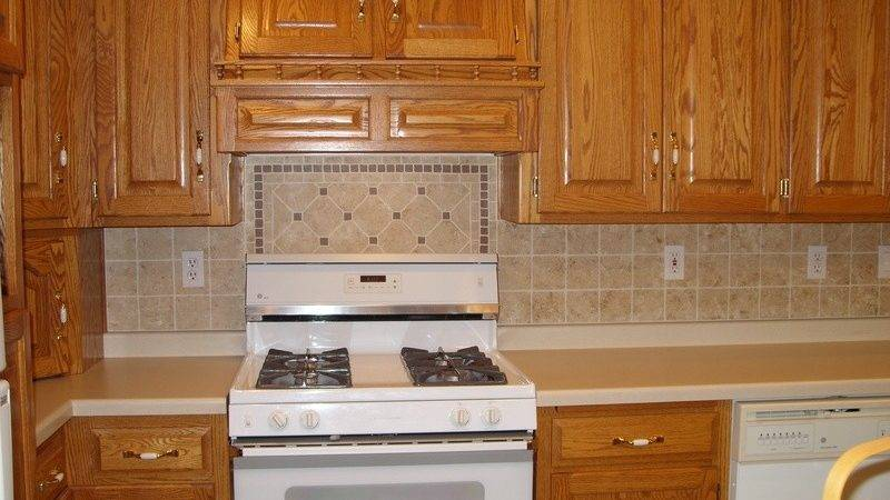 Decorative Fake Backsplash Tierra Este