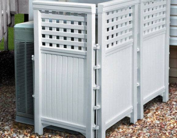 Decorative Ways Hide Your Outdoor Air Conditioning Unit