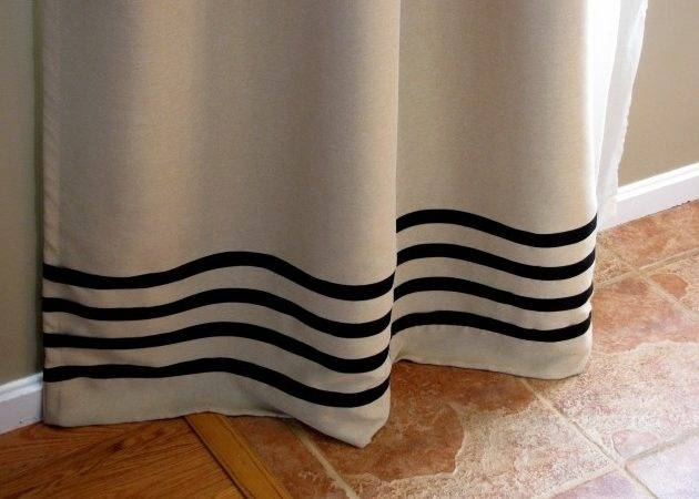 Delightful Remodelaholic Sew Curtain Panels Inspired