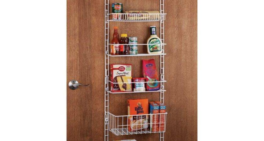 Deluxe Shelf Adjustable Pantry Door Chefs Catalog