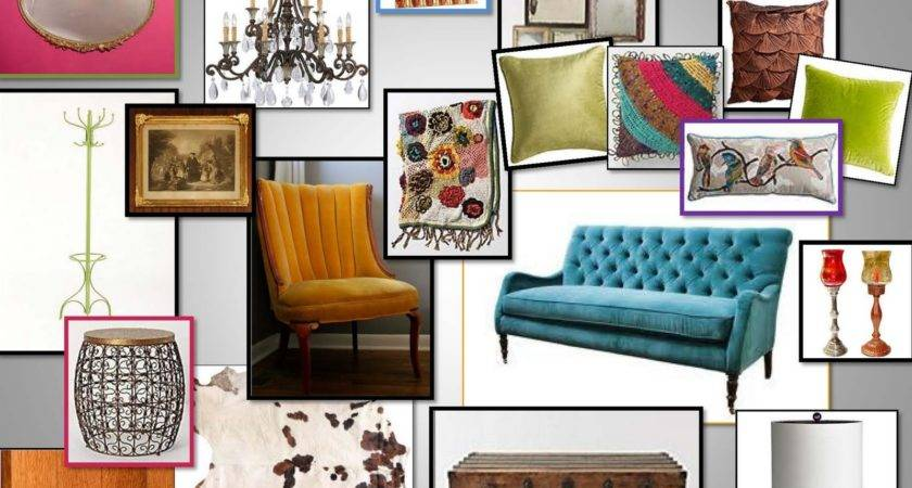 Designer Diary Eclectic Living Room Inspiration Board