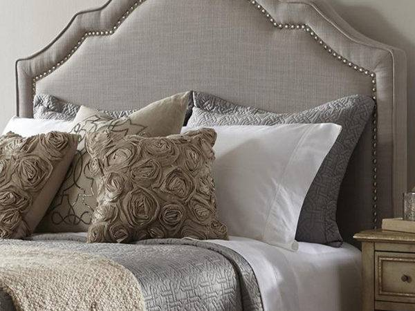 Dictate Upholstered Headboard Queen Jitco