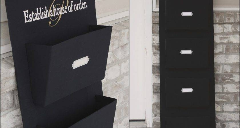 Different Act Normal Diy Mail Organizer