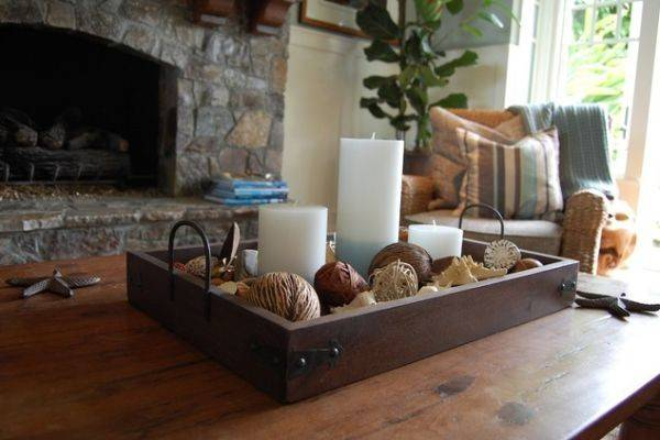 Different Styles Adopt Decorating Your Coffee Table