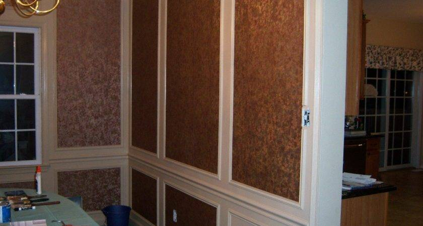 Dining Room Trim Work Shadow Boxes All