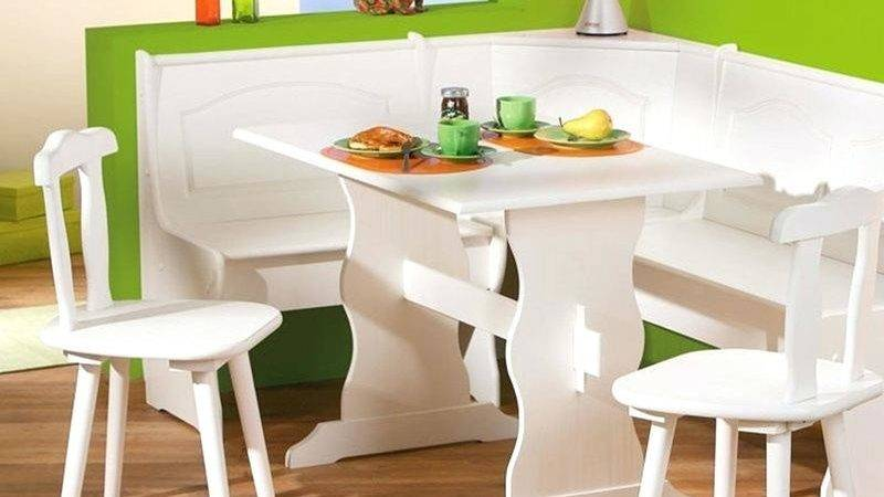 Dining Set Bench Contemporary