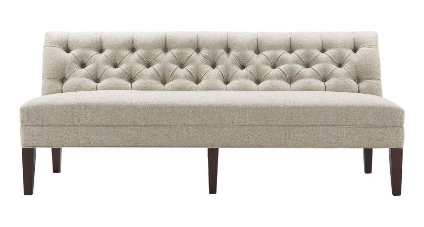 Dining Set Leather Banquette Shaped