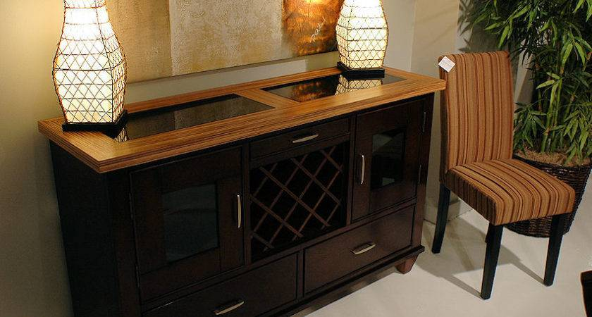 Dining Table Buffet Set