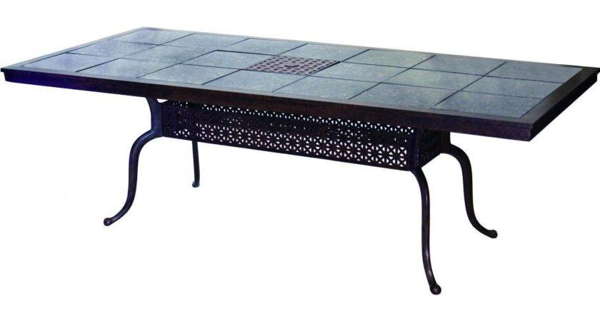 Dining Table Patio Tile Top