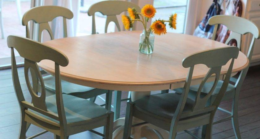 Dining Table Refinishing Ideas Paint