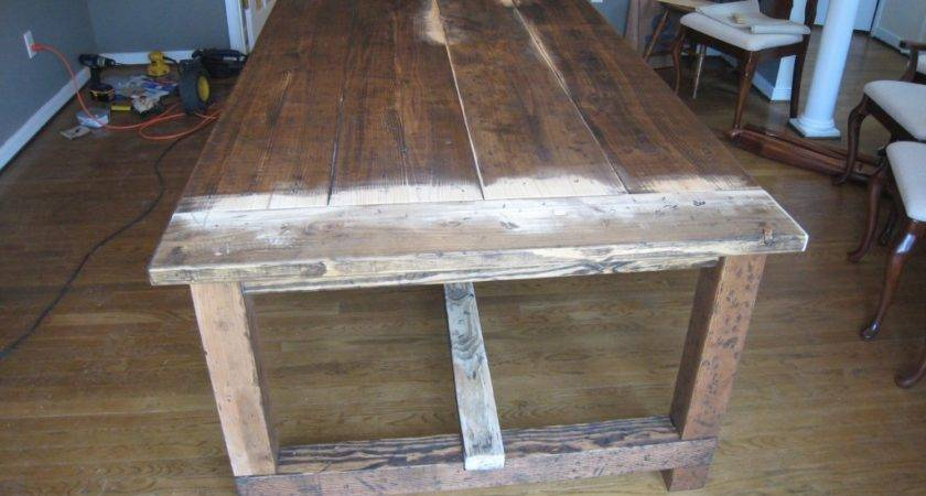 Dining Table Rustic Diy