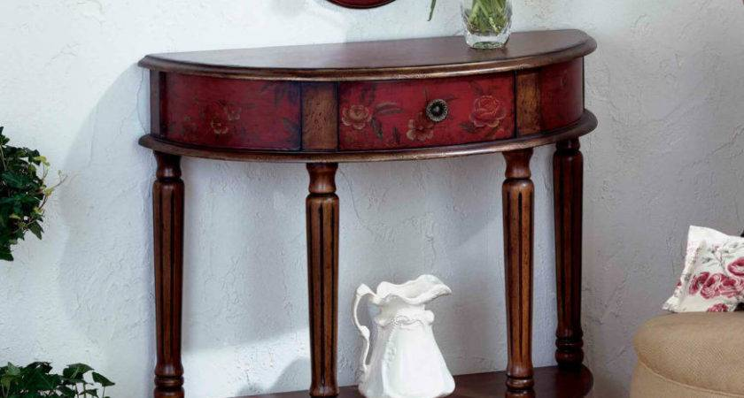 Discover Different Types Foyer Tables Your