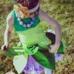 Disney Tinkerbell Inspired Dress Apron Kids