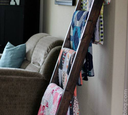 Display Your Quilts Diy Quilt Ladder Quilting Digest