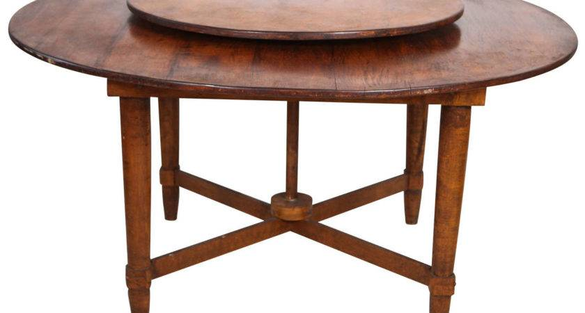 Distinct Rustic Round Dining Table Built Lazy